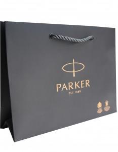 Фирменный бумажный пакет Parker (Premium)