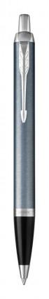 Шариковая ручка Parker IM Metal Light Blue Grey CT