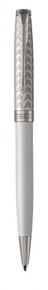 Шариковая ручка Parker Sonnet Metal & Pearl CT