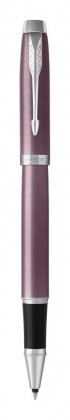 Ручка роллер Parker IM Metal Light Purple CT