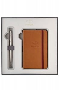 Подарочный набор Parker Sonnet Stainless Steel CT Шариковая  ручка