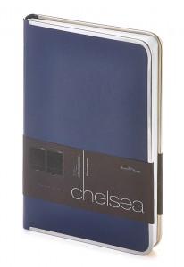 """Ежедневник недатированный А5 """"Chelsea """" (синий)"""