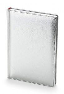 Ежедневник недатированный А5 (серебро)