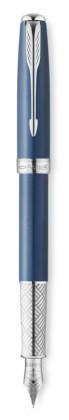 Перьевая ручка Parker Sonnet Secret Blue Shell