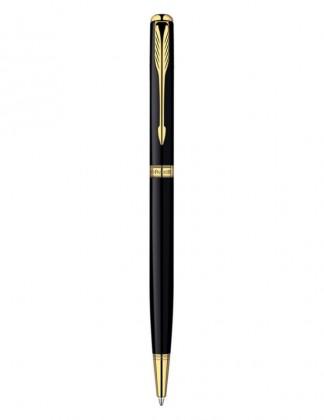 Шариковая ручка PARKER SONNET LACQUER BLACK GT