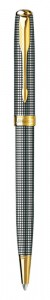 Шариковая ручка Parker Sonnet Sterling Silver Cisel