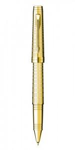 Ручка роллер Parker Premier Deluxe Chiselling GT (2013)